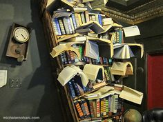 Santa's visiting The Last Bookstore in Los Angeles | Michele Roohani