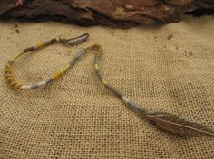 Natural mix browns and greys clip in hair wrap by NoodgeDesigns, $20.00