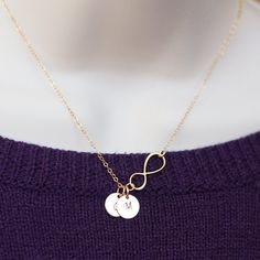 Hey, I found this really awesome Etsy listing at https://www.etsy.com/listing/174900866/tiny-personalized-necklace-gold-necklace