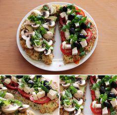 Cauliflower Crust | Kawaii Fitness
