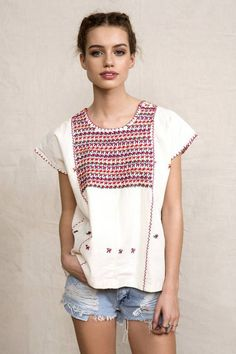 Blusa étnica mexicana – Follow the Folk