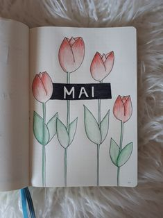 Bullet Journal Cover May/Mai 2018