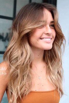 Long Layered Haircuts, Haircuts For Long Hair, Long Hair Cuts, Straight Hairstyles, Layers For Long Hair, Trendy Hairstyles, Haircut Long Hair, Long Layered Hair Wavy, Long Textured Hair