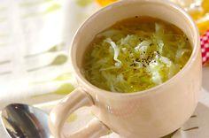 キャベツのスープのレシピ・作り方 - 簡単プロの料理レシピ | E・レシピ