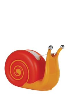 Snail Tape Dispenser and more Unique Gift Ideas at Perpetual Kid. No need to crawl through the house looking for tape. Our Snail Tape Dispenser doesn't move Home Deco, Cute Office Supplies, Desk Supplies, School Supplies, Tape Dispenser, Scotch Tape, Ideas Geniales, Cool Gadgets, Desk Gadgets