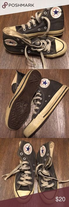 Vintage Converse All Star High Tops Vintage Converse All Star High Tops Converse Shoes Sneakers