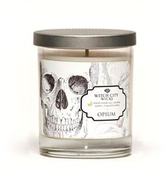Opium jar candle – Witch City Wicks
