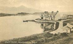 Bath Hotel, Westport, County Mayo, Ireland – 1911 | homethoughtsfromabroad626