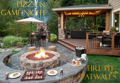 Taking Family Game Night Outside - short blog on this property - shows all photos