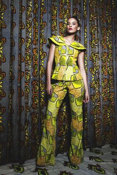 "african-fashion-design: "" Iconic Invanity by Nancy Nwadire - Spring/Summer 2013 - "" Luxury Sweet Candy"" is an exuberant display of luxury fabrics, infinite detail, creative embellishment and. African Shop, African Wear, African Women, African Dress, African Style, African Theme, African Outfits, African Inspired Fashion, African Print Fashion"
