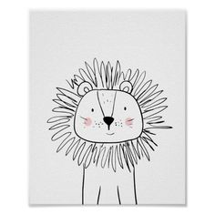 Draw Lions Lion Nursery Print Black and white modern zoo ♥ A wonderful addition to your little one's nursery decor. A cute Lion illustration. - ♥ A wonderful addition to your little one's nursery decor. A cute Lion illustration. Lion Nursery, Animal Nursery, Nursery Art, Nursery Decor, Nursery Modern, Modern Wall, Nursery Drawings, Nursery Prints, Nursery Paintings