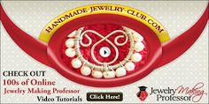 Lots of Free Jewelry Making Tutorials & Lessons Jewelry Making Tutorials, Beading Tutorials, Jewelry Ideas, Jewelry Design, Beaded Jewelry, Handmade Jewelry, Jewelry Website, Tree Of Life Pendant, Adult Crafts