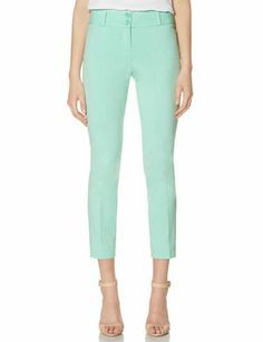 Exact Stretch Skinny Ankle Pants from THELIMITED.. Mint **