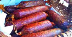 Recepty - Strana 14 z 100 - Vychytávkov Salami Recipes, Homemade Sausage Recipes, Dip Recipes, Cooking Recipes, Kaluah Recipes, Good Food, Yummy Food, Homemade Playdough, Hungarian Recipes
