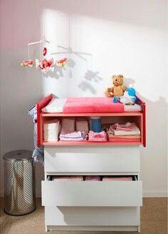 Fasciatoio cassettiera Malm Ikea