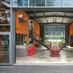 The 12 Container House is arguably one of the most impressive shipping container homes out there. Owned by Anne and Matthew Adriance, designed by Adam... #ShippingContainerHomes