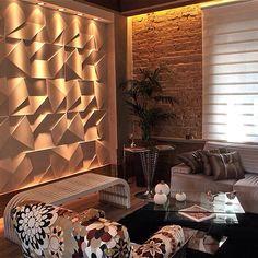 Efeito de parede e iluminação