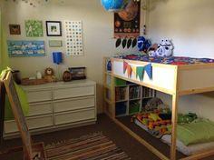 Visit Link for More Ikea Kura Beds Kids Room Ideas Safe Bunk Beds, Toddler Bunk Beds, Cool Bunk Beds, Kid Beds, Ikea Bunk Bed Hack, Kura Ikea, Ikea Bed, Kura Hack, Futon Bed