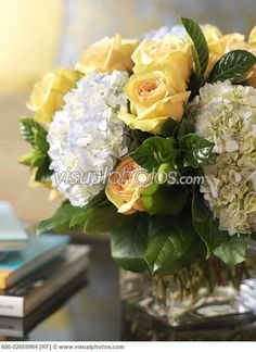 yellow and white floral arrangement - Google Search