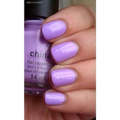 stuff i swatched China Glaze Lotus Begin ❤ liked on Polyvore