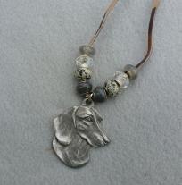 Dachshund Pendant necklace