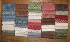 New fabric from Julie Hendricksen...so pretty!