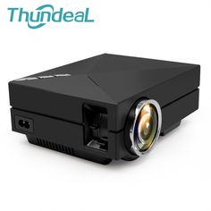 2016 Newest GM60 Upgrade Version GM60A Built-in Display Mini Metal  LED Home Theater Projector HD Video Projector Beamer 1080P