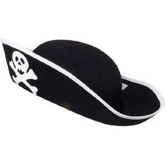01c01425a24 US Toy Felt Pirate Hat Authentic Pirate Costume