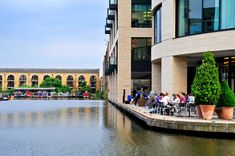 Notable spots by London's canals and riverside.