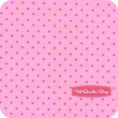 Celebration Pink Dots Yardage SKU# 2868-17
