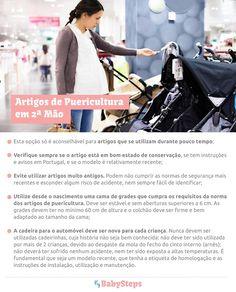#Artigos_de_Puericultura_em_2_Mão #babysteps #infográficos #bebé #artigos