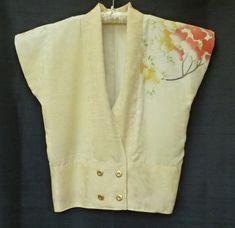 Haregi Kimono Jacket by kimonoredux on Etsy, $135.00