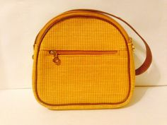 Vintage Hippie Purse  Made in Italy  Yellowish  by OceanOfFlowers