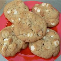 White Chocolate Macadamia Nut Cookies  - Best cookies that I have EVER made!!  ~ K