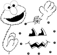 christmas coloring pages  Elmo Christmas Coloring Pages