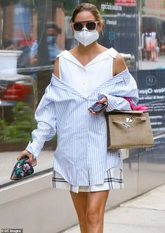 Estilo Olivia Palermo, Olivia Palermo Street Style, Olivia Palermo Outfit, Olivia Palermo Lookbook, Tweed, Brooklyn, Mr Style, Milan Fashion Weeks, London Fashion