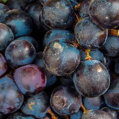 Uvas en el mercado