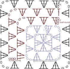 Crochet Granny - Chart: