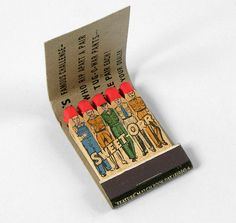 "Sweet-Orr ""Tug-O-War"" Matchbook"