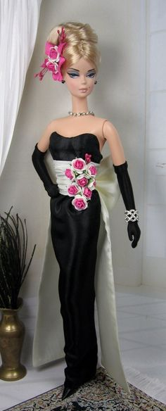 La Danse des Roses for Silkstone Barbie by MatisseFashions on Etsy