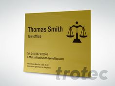 Sign engraving: Marking door signs, name tags Thomas Smith, Signage Display, Door Signs, Laser Engraving, Design, Stall Signs, Facts, Signage, Name Labels