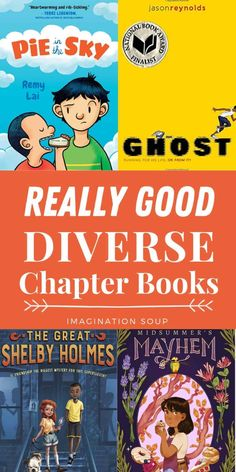 Chapter Books with Diverse Main Characters | Imagination Soup Learning Tools, Kids Learning, Library Quotes, Child Teaching, Boy Character, Reading Intervention, First Daughter, Teacher Style, Chapter Books