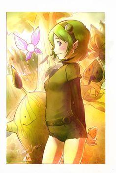 Saria! #Link #Zelda #Saria #Forest Temple #Sage #Green