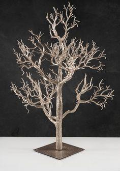 Artificial Rose Gold Tree 32in Wedding Wishing