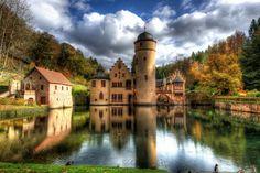 Mespelbrunn Castle, Castle by Steve Swope on 500px