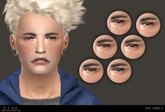 My Sims 4 Blog: Willow Eyes for Males & Females by A3ru