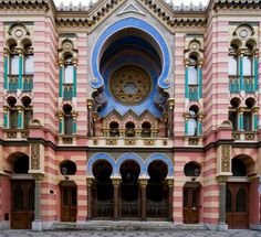 The Jewish Synagogue and Worship Centre of Prague - One of the historic landmarks in Prague's Josefov quarter.