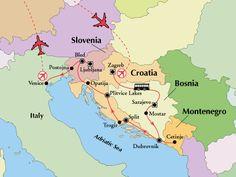 15 Day Croatia, Bosnia & Slovenia with Venice