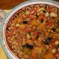 Moroccan Vegetarian Tagine. I made this in my tagine pot. The savoury flavours with pops of sweetness from the sultanas (raisins), oh so good!
