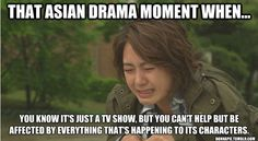 This is my problem when I really get into an Asian drama series, I unexpectedly start bawling my eyes out for one of the characters who's heartbroken.